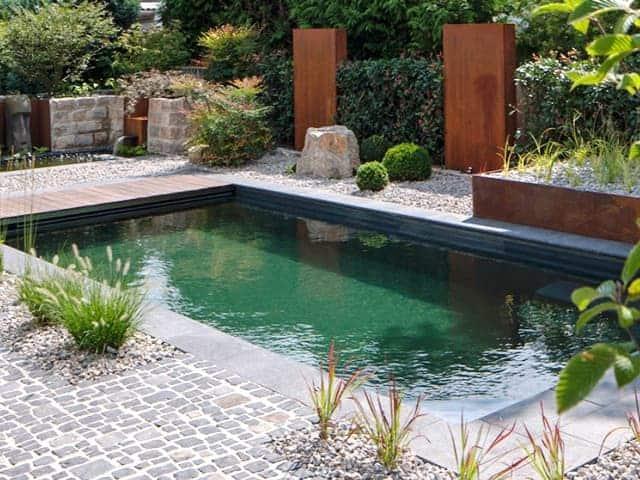 Pool Garten bei Landshut modern