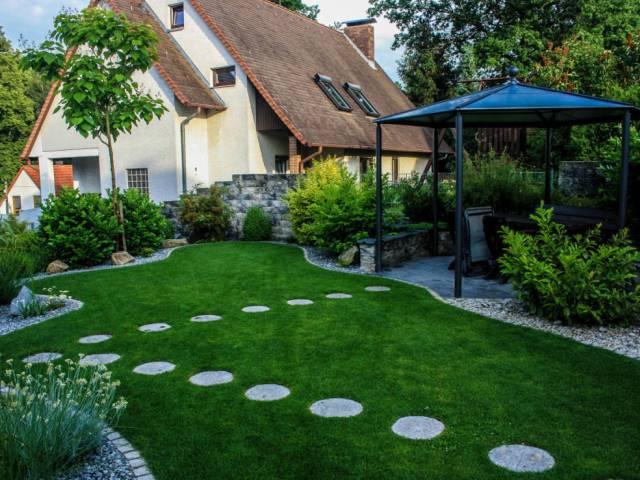 Gartengestaltung Rasen anlegen