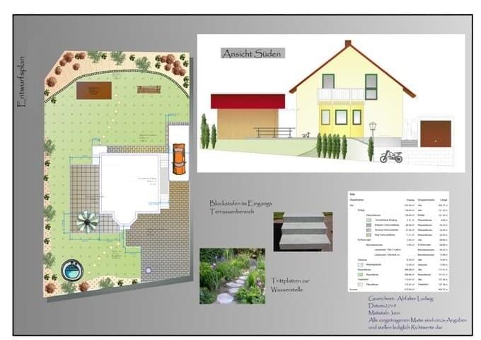 Garten planen Gartenplanung Abfalter bei Landshut