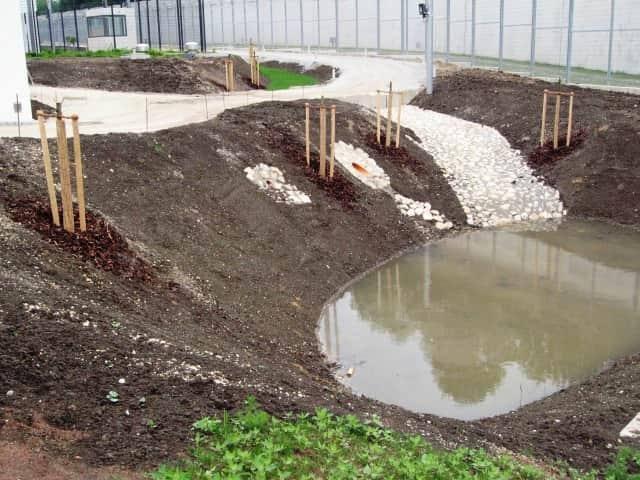 Öffentliche Anlagen Teich